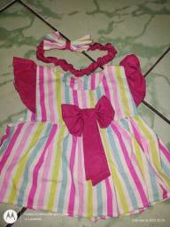 Vestido e Cj infantil