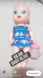 Boneca baby alive originais faz xixi