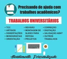 SOS dos Universitários - Trabalhos Acadêmicos