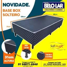 Base Box Solteiro, Compre no zap *