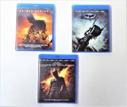 Blu-ray Trilogia Batman Begins Em Ótimo Estado