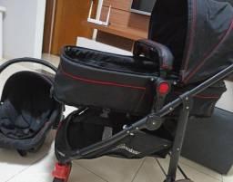 Carrinho de bebê 3 em 1 Galzerano