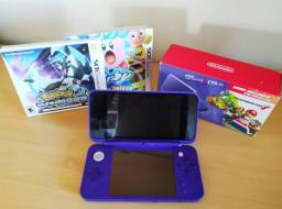 Nintendo 2DS XL + 3 jogos