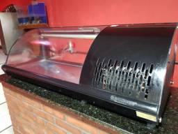 Sushi case e balcão com pia