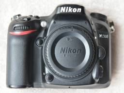 Câmera Nikon D7200 Corpo, 7 mil clicks