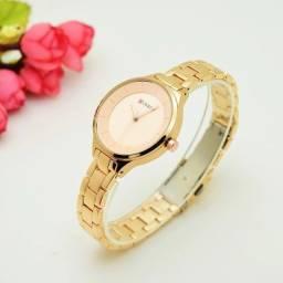 Relógio Feminino Fino e Belo Original Resistente