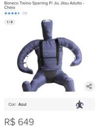 Vendo boneco de treino jiu jitsu seminovo