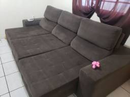 Sofa 3M  retratil e reclinável  entrego/parcelo
