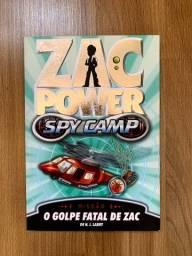 Livro Zac Power: O golpe fatal de Zac