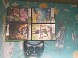 Jogos originais Xbox 360/ Controle