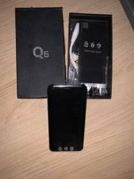 LG Q6 NOVO LACRADO