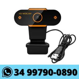 WebCam Full Hd com Microfone Integrado USB