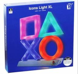 Luminária Gamer Playstation