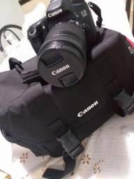 Camera Canon 70d / lente e Bag (original)