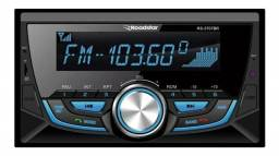 Rádio Automotivo 2 Din Roadstar RS-3707BR Bluetooth MP3 Player SD AUX P2 FM WMA
