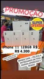 Iphone 11 128 novo lacrado