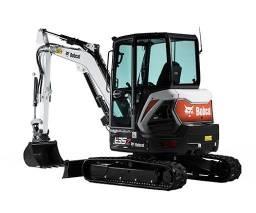 Escavadeira Compacta Bobcat E35Z Peso Operacional 3.362 kg 2021