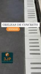 Grelha de concreto para ralo 30×50x6