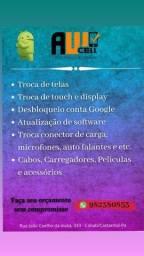 Assistência e acessórios para celular