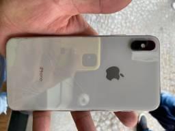 iPhone XS Max 64gb traseira trincada Leia*