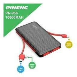 Carregador portátil power bank Pinneng 10.000 original