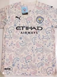 Camisa Manchester City Third Puma 20/21 - Tamanhos: P, M, G