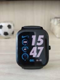 Smartwatch Amazfit GTS Preto com GPS e pulseira extra