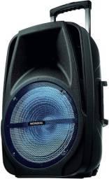 Caixa Amplificada Mondial Cm-500 Potência 500w Com Controle