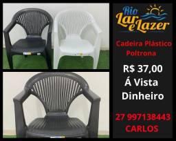 Cadeira Plástica Poltrona