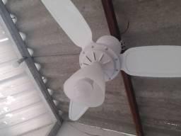 2 ventiladores de teto 220v