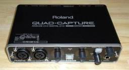 Interface de áudio Roland Quad Capture