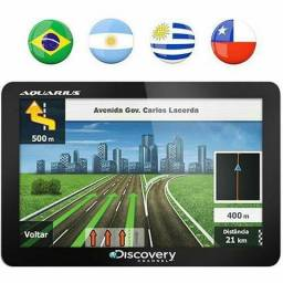 Linha Gps Discovery tv digital hd touch screen mapa 2018