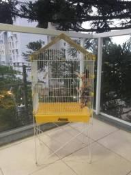 Gaiola / Viveiro Pássaros + Playground