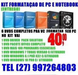 Dvd windows 10 32/64 bits gratis driver pacote office 20 reais (entrego)