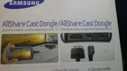 Vendo similar Chrome Cast./Allshare Cast da Samsung. na caixa funcionando perfeito.