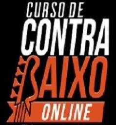 Curso de Contrabaixo Online, paguem em até 12 x 37,00