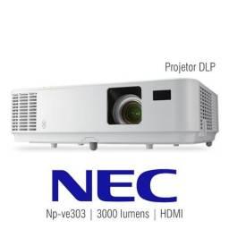 52f89d7e3cb Projetor Nec NP-VE303 3.000 Lumens