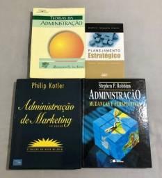 Livros Teorias da Adm. + Adm. de Marketing + Adm.Mudanças e Perspectivas