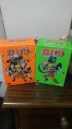Box 1 e 2 Naruto em ótimas condições. Colecionador