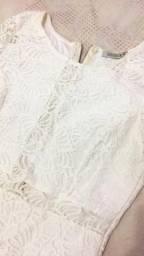 Vestido novo off white