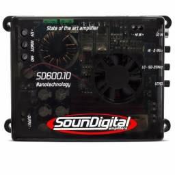 Módulo Amplificador Soundigital Sd600.1 600wrms 1ch