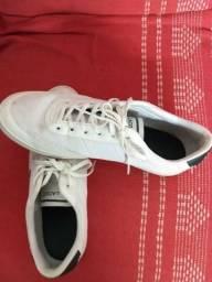 fac9d290d08a2 Vendo este tênis lacoste branco com designer verde tamanho 40 41