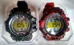 2 Relógios G-shock. Aprova dágua, entrego!