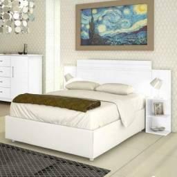 Usado, Cabeceira casal kaike extensivel cama Queen comprar usado  Rio de Janeiro