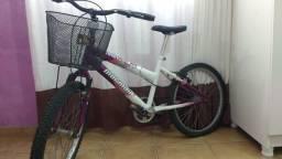 Bicicleta Aro 20 Sweet Girl com Cestinha - Mormaii