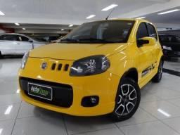 Fiat Uno Sporting 1.4 Flex Amarelo - 2012