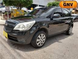 Gm - Chevrolet Agile 2010 LTZ 1.4 + GNV + ipva 19 pago =0km ac trocaa - 2010