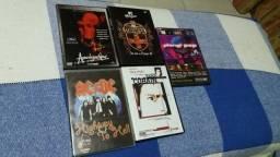 DVDS musicais , 10 reais cada
