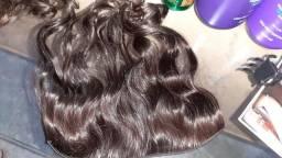 Mega hair só no ponto de coloca virgem