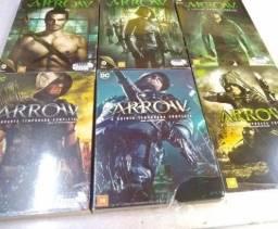 Arrow Primeira A Sexta Temporada Dvd Original Novo Lacrado